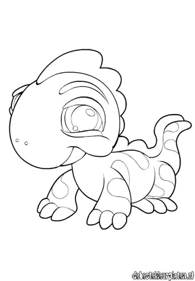 littlest pet shop coloring pages panda movie | LittlestPetshop10 - Printable coloring pages