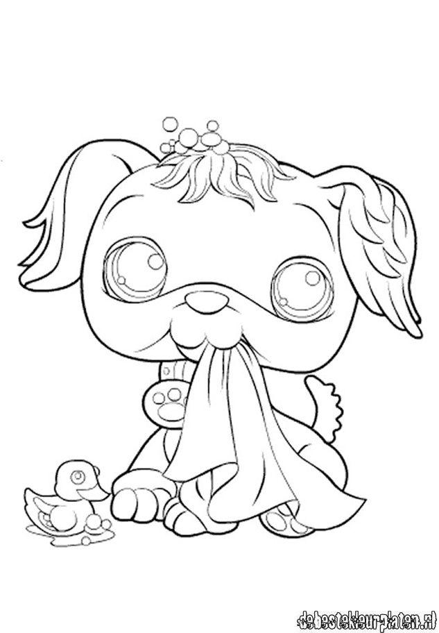 littlest pet shop coloring pages panda - littlestpetshop300 printable coloring pages