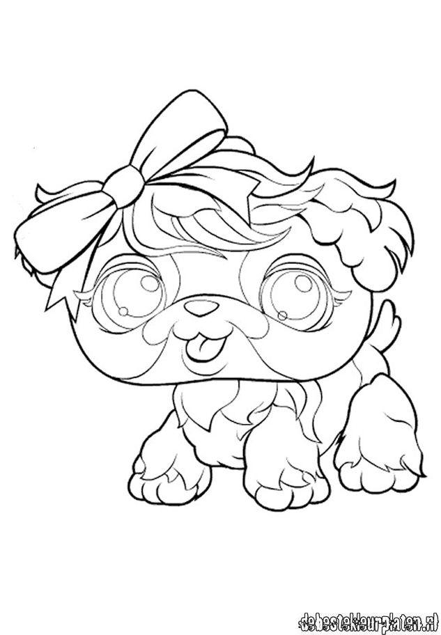 littlest pet shop coloring pages panda movie | LittlestPetshop33 - Printable coloring pages
