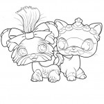 Littlest Pet Shop coloringpages - LittlestPetshop9