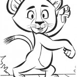 Madagascar coloringpages -