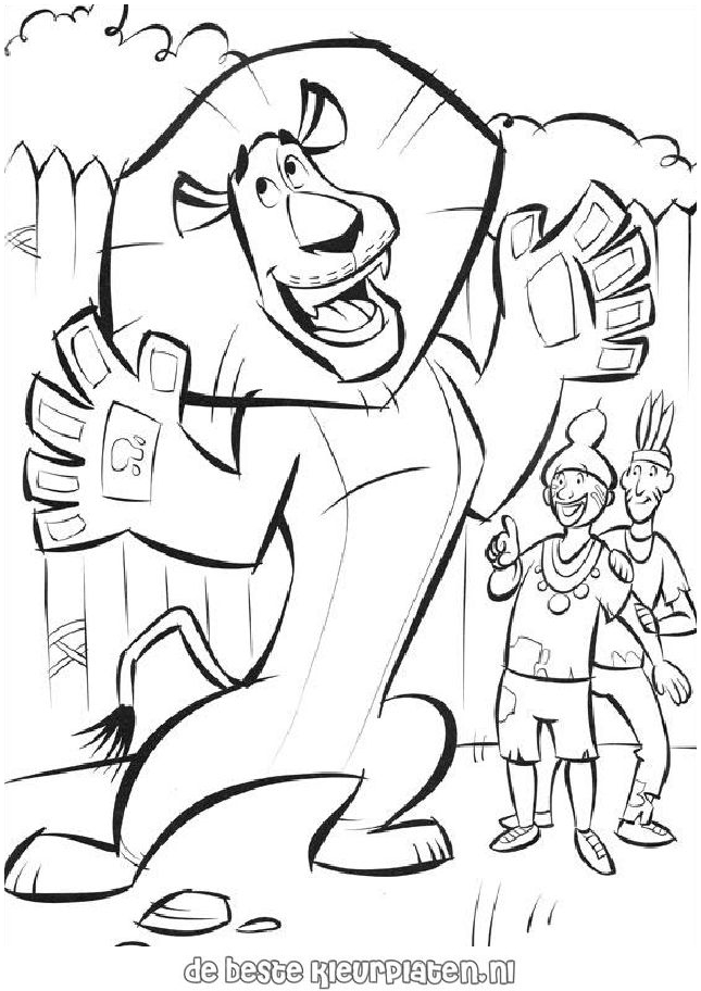 Madagascar033 - Printable coloring pages