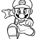 Mario coloring pages 7