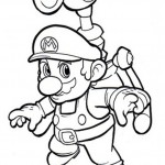 Mario coloring pages 6