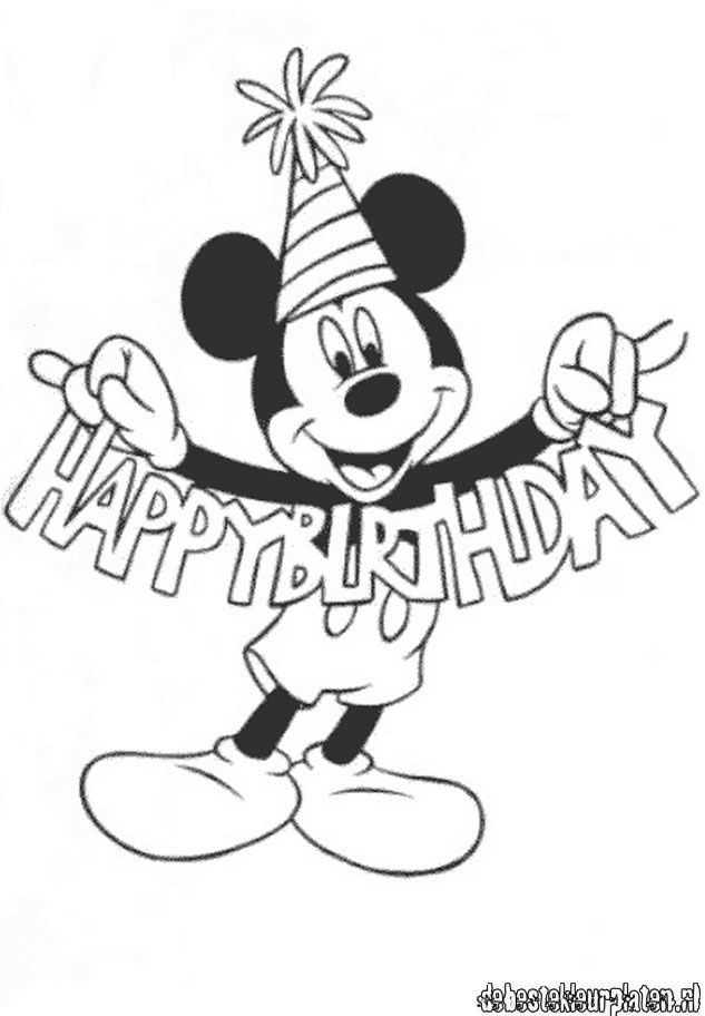 Mickeymouse29 Printable Coloring Pages
