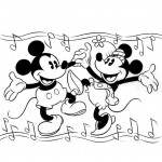 Mickey Mouse coloringpages -