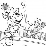 Minnie Mouse coloringpages -