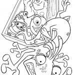 Monsters Inc coloringpages -
