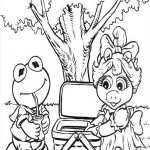 The Muppet Show coloringpages -