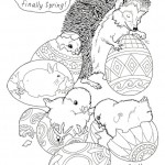 Easter coloringpages -