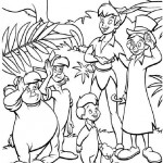 Peter Pan coloringpages - PeterPan001