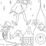 Peter Pan coloringpages - PeterPan003