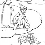 Peter Pan coloringpages - PeterPan007