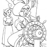Peter Pan coloringpages - PeterPan009