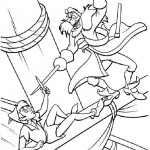 Peter Pan coloringpages - PeterPan010