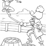 Peter Pan coloringpages - PeterPan011