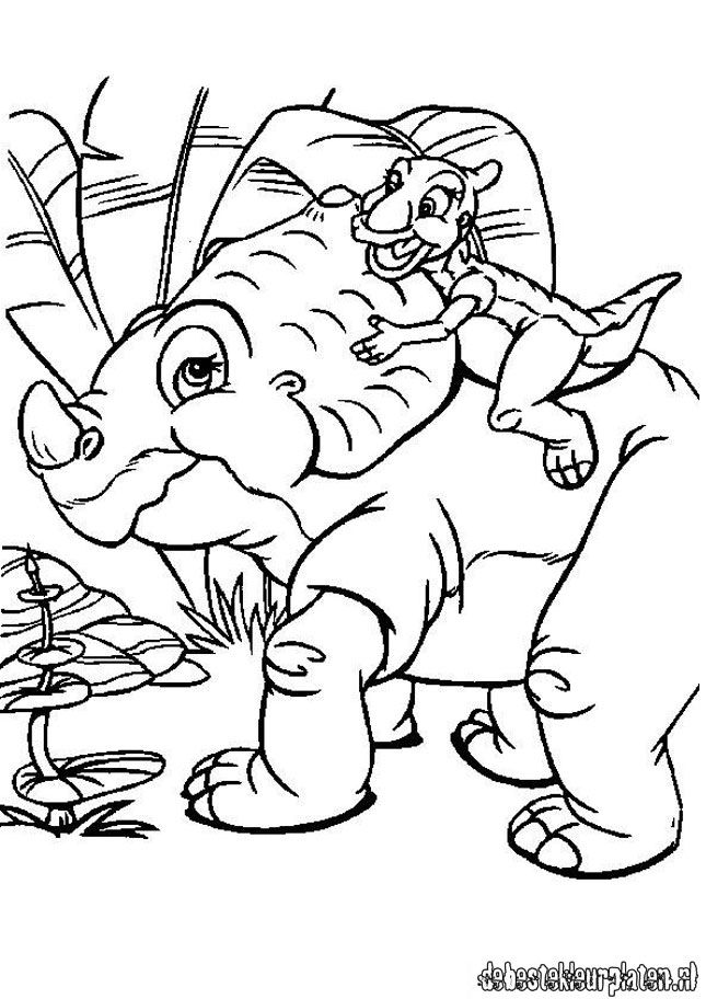 Platvoet1 Printable Coloring Pages
