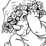 Littlefoot coloringpages -