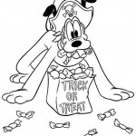 Pluto coloringpages -
