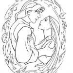 Pocahontas coloringpages -