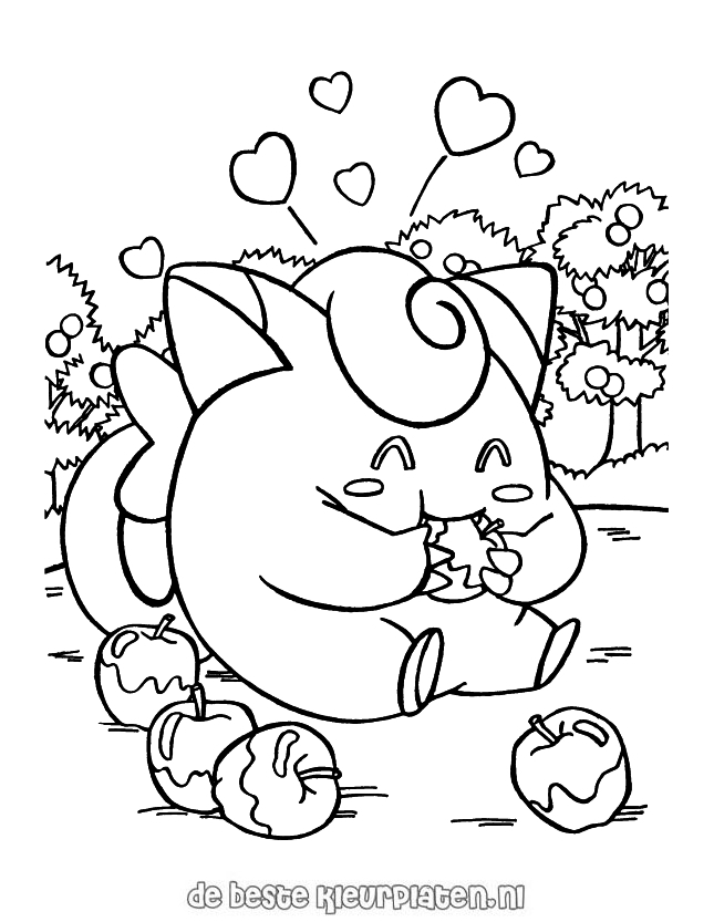 pokemon0013  printable coloring pages