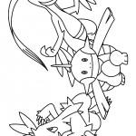 Pokemon coloringpages -
