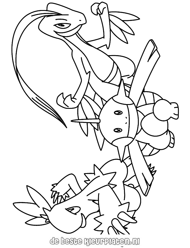 rhyperior pokemon coloring pages - photo#15