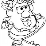 Mr. Potatohead coloring pages 16