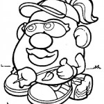 Mr. Potatohead coloring pages 13