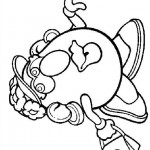 Mr. Potatohead coloring pages 12