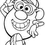 Mr. Potatohead coloring pages 10