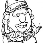 Mr. Potatohead coloring pages 8