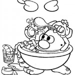 Mr. Potatohead coloring pages 5