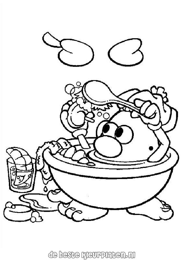 Potatoe014 Printable Coloring Pages