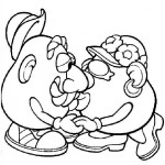 Mr. Potatohead coloring pages 4
