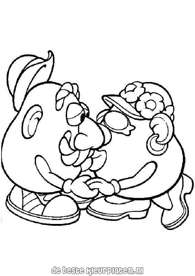 mr potato head coloring pages - potatoe015 printable coloring pages