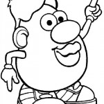 Mr. Potatohead coloring pages 3