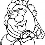 Mr. Potatohead coloring pages 2