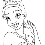 The Princess and the Frog coloringpages -