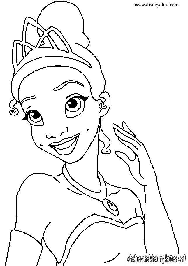 Princessandthefrog71 Printable Coloring Pages