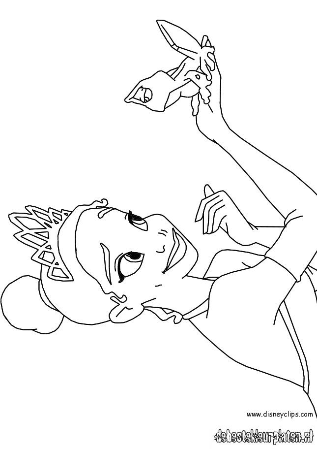 Princessandthefrog91 Printable coloring pages
