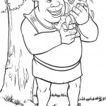 Shrek coloringpages - Shrek1