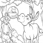 Shrek coloringpages - Shrek10