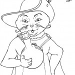 Shrek coloringpages - Shrek12