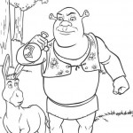 Shrek coloringpages - Shrek16