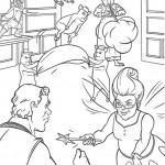 Shrek coloringpages - Shrek21