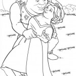 Shrek coloringpages - Shrek22