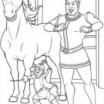 Shrek coloringpages - Shrek23