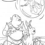 Shrek coloringpages - Shrek4