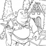Shrek coloringpages - Shrek5